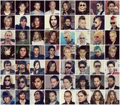 hairstyles through the years check out jared leto s incredible hair evolution hair evolution