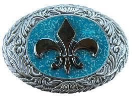 New Orleans Flag Cool New Orleans Fleur De Lys Quebec Flag Belt Buckle Belts Buckles