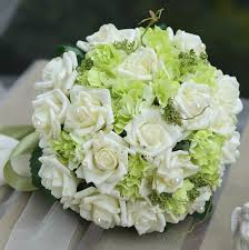 silk wedding bouquets inexpensive silk wedding bouquets casadebormela