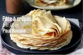 paul bocuse recettes cuisine recette pâte à crêpes à la façon paul bocuse actualités
