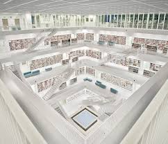 Stuttgart City Library High Quality Stock Photos Of