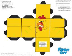 fg2 ernie the giant chicken cubee by theflyingdachshund