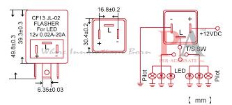 led blinker flasher wiring diagram wiring diagrams