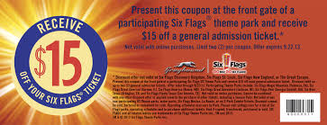 Coupons For Six Flags Season Pass How To Get Six Flags Coupons For Free For July Printable Coupon