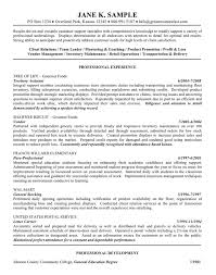 General Objective Resume Examples by Resume Objective Example Resume Objective Statement Examples For