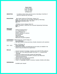 Computer Science Resume Templates Resume Template Computer Science Graduate