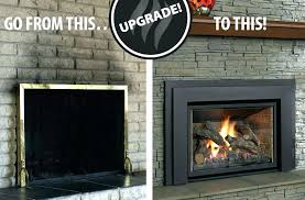 fireplace insert installation s gas fireplace installation cost toronto