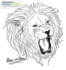 lion tattoo images u0026 designs