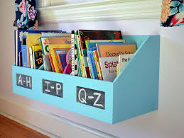 Bookcase For Kids Room by Organizer Turned Kids Bookshelf Hanging Bookshelves Repurpose