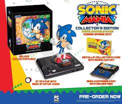 amazon com sonic mania collector u0027s edition playstation 4