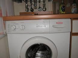 waschmaschine in küche küche