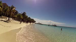 Map Of Roatan Honduras West Bay Beach Walk Roatan Honduras Video Route Livetouring Com