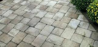 Cost To Install Paver Patio by Patio Concrete Paver Patio Cost Paver Stone Patio Plans Concrete