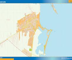 Cancun Map Mapa Cancun Our Cartographers Have Made Mapa Cancun As Digital