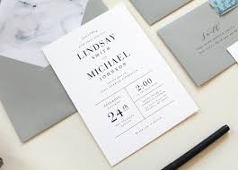 modern wedding invitations modern marble wedding invitation