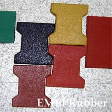 Recycled Rubber Patio Tiles by China Recycled Rubber Pathway Patio Pavers Rubber Bricks Photos