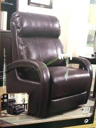 barcalounger premier reclining sofa barcalounger leather recliner features o top grain leather with