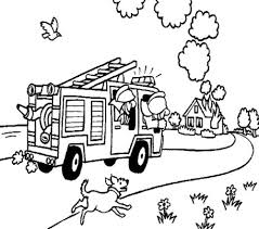 fireman headed fire coloring pages kids coloring pages