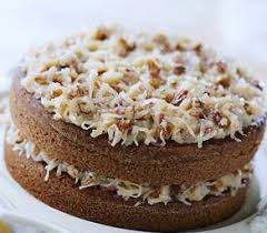 german chocolate cake 2 layer 9 inch round wedding favors cookie