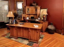 Solid Wood Office Desks American Made Amish Executive Desks Dutchcrafters Amish Furniture