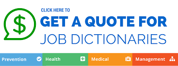 job quotes perth what is a customised job dictionary kinnect