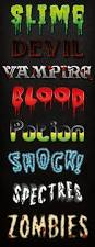 horror and halloween graphic styles by jrchild graphicriver