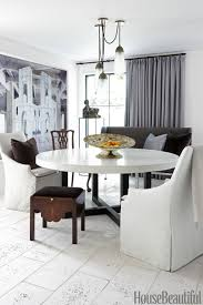 Modern White Dining Room Table 85 Best Dining Room Decorating Ideas And Pictures