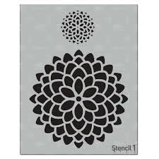 64 Best Moroccan Stencil And by Stencil1 Mum Stencil S1 01 145 Mums The Home Depot