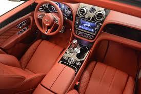 bentley bentayga red interior 2018 bentley bentayga black edition stock b1281 for sale near