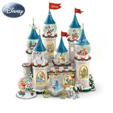 disneys at the castle miniature snowglobe collection