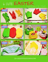 easter napkins 6 easter napkin folding creative kitchen