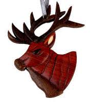 lodge theme ornaments miniature northwoods garden