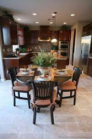 Kitchen Floors With Cherry Cabinets Pictures Of Kitchens Traditional Dark Wood Kitchens Cherry Color
