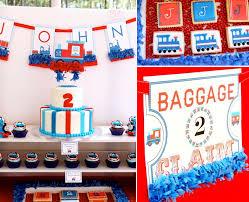 kara u0027s party ideas thomas train boy cake 2nd birthday party