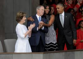 does george bush have a crush on michelle obama he likes