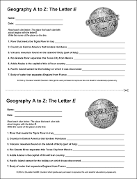 education world geography a to z the letter e