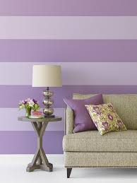 lavender painted walls painting alternating stripes on a wall hgtv