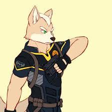 fox mccloud in police uniform u2014 weasyl
