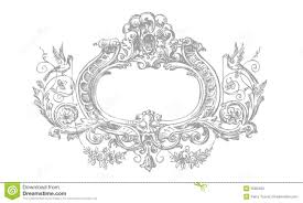 Victorian Design Detailed Victorian Floral Frame Stock Photos Image 5580483