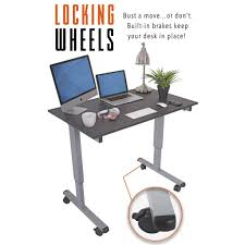 standing desk on wheels creative ideas electric standing desk finding the best for your