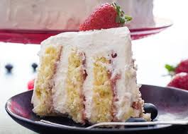 strawberries and cream vertical layer cake an italian in my kitchen