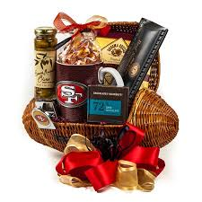 san francisco gift baskets touchdown football gift basket