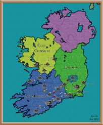 7 Kingdoms Map Image Map Of Eire 1457 02 Jpg Renaissance Kingdoms Fandom