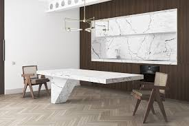 kitchen backsplash luxury abstract white marble kitchen
