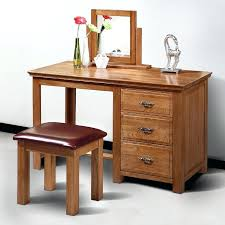 Oak Makeup Vanity Table Oak Bedroom Vanity Set Bedroom Vanity Set Rustic Dressing Table