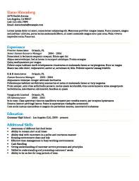 It Skills Resume Sample by Modern Resume Templates 64 Examples Free Download