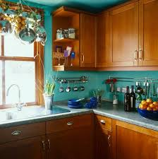 Wood Color Paint For Kitchen Cabinets 25 Best Teal Kitchen Walls Ideas On Pinterest Teal Kitchen