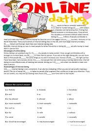 12 free esl cloze test worksheets