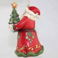 heartwood creek 15th anniversary santa hanging ornament