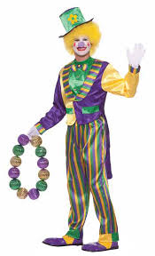 mardi gras costumes men island costume clown costumes